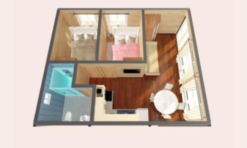 Дачный дом Атлант 6х7 м